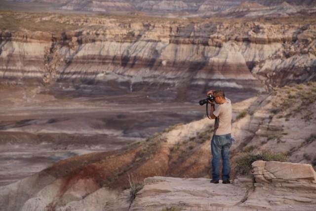 化石の地層