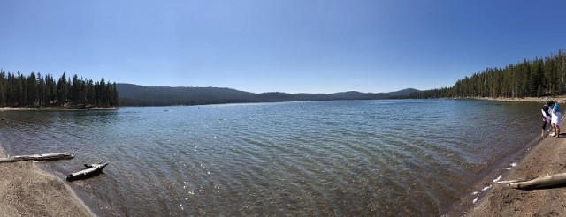 ネイティブアメリカンが聖なる水として大切にしている湖